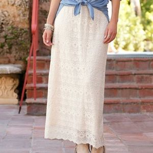 Cato lace skirt size S
